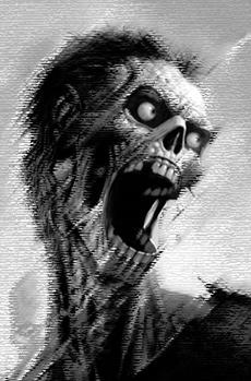 Zombie schreit